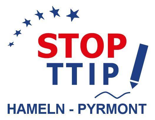 Logo des StopTTIP-Bündnisses Hameln-Pyrmont