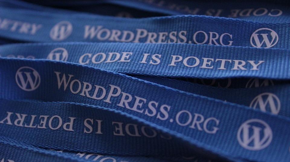 Lanyards des CMS-Dienstes wordpress.org als Symbolbild für freie Software